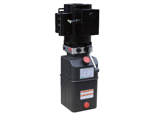 Hydraulic power unit for car lifter