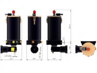 PAG气动油脂泵(金属油箱)